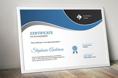 Looking for a modern yet easy to edit certificate template for MS Word? This is an easy to edit docx multi purpose certificate design that you can consider. Stationery Templates, Invoice Template, Certificate Design, Certificate Templates, Sales Kit, Word Program, Certificate Of Achievement, Design Competitions, Business Names