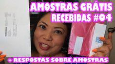 AMOSTRAS GRÁTIS  #04 [Recebidos]