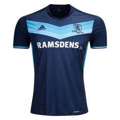 Middlesbrough FC 16/17 Away Soccer Jersey  -  Premier League 2016/17 jerseys & apparel at WorldSoccershop.com