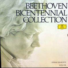 Beethoven: String Quartets (Part 1) - Amadeus Quartet, Beethoven Bicentennial Collection, Vol. VII, 1972