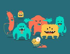 """Popatrz na ten projekt w @Behance: """"Корпоративные персонажи школы анимации Motion Hub"""" https://www.behance.net/gallery/22148565/korporativnye-personazhi-shkoly-animacii-Motion-Hub"""