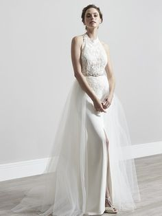 f632503685d35 Eva - Sassi Holford 2019 Enchanted Collection. Designer wedding dress,  Bridal couture. Shown