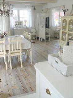 Calming! #kitchen #white #interior