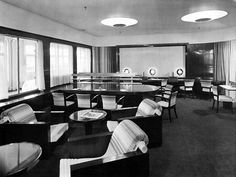 Holland America Line History: 1872 2000 - Page One Art Deco Hotel, American Line, Amsterdam Photos, Holland America Line, Streamline Moderne, Commercial Interiors, Hal Cruises, Dutch, History