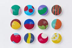 Thoroughly organic symposium Graphic design of organic symposium. Identity Design, Visual Identity, Logo Design, Graphic Design Posters, Graphic Design Inspiration, Stationery Design, Brochure Design, Tomie Ohtake, Event Branding