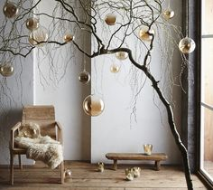Artisan Luster Glass Ornaments & Votives