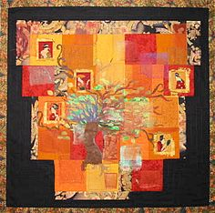 #japanese inspired #quilt. I also love #tree #quilts.