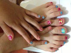 Kid nails design