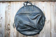 CacSac Gig Bags 22'' Black Leather Cymbal Bag Drum Cases, Drums, Leather Backpack, Black Leather, Bags, Fashion, Handbags, Moda, Leather Backpacks
