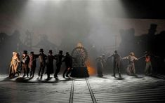 Frankenstein, 2011 - design by Mark Tildesley, directed by Danny Boyle, Olivier Theatre, National Theatre Southbank