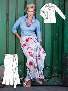 Sail Away: 6 New Plus Size Patterns – Sewing Blog | BurdaStyle.com