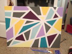 Elegant Painters Tape Canvas