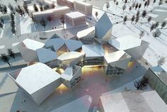 Image 1 of 17 from gallery of BIG wins International Competition to design Tallinn's new City Hall.