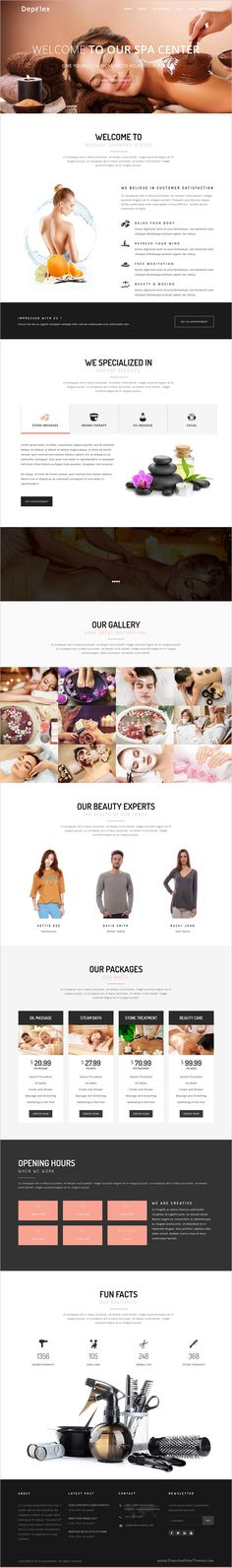 Depilex Spa is a Multipurpose #WordPress Theme for #beauty #salon, spa and wellness center websites download now➩ https://themeforest.net/item/depilex-salon-parlour-spa-gym-multipurpose-wp-theme/19197711?ref=Datasata