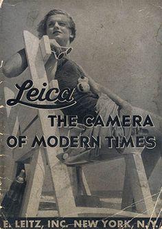 Leica Advertisement, 1935.