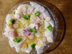 Et voici la recette que je prépare pour ce soir, de la daurade ou dorade en ceviche. La recette provient de Elle à Table.  Pour l'instant j'...