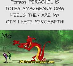 um, you guys, I hate to hate on your hating, but Perachel shippers don't exist anymore. There weren't that many to begin with in the first place. Besides, we all knew it wasn't going to happen. (but I've gotta admit, most of these anti-Perachel things are really funny)
