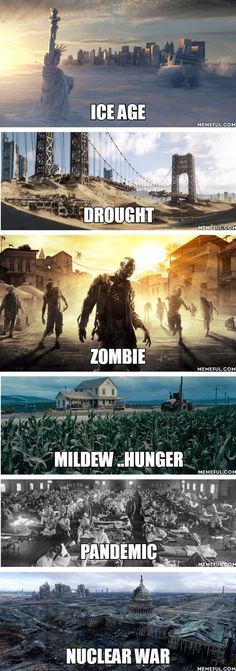 What post apocalyptic world would you prefer? - Food Meme - What post apocalyptic world would you prefer? The post What post apocalyptic world would you prefer? appeared first on Gag Dad. Story Inspiration, Writing Inspiration, Writing A Book, Writing Tips, Cyberpunk, Ps Wallpaper, Apocalypse Art, Nuclear Apocalypse, Zombie Apocalypse Survival