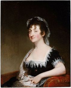 Hepzibah Clarke Swan (Mrs.James Swan). 1808. By Gilbert Stuart, American, 1755–1828