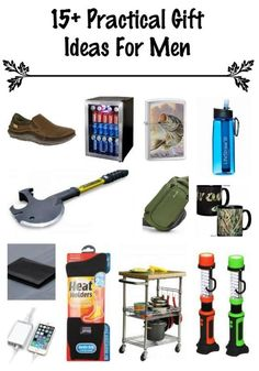 Practical Gift Guide For Men - husbands, boyfriends, dads, brothers, grandparents, etc. Gift Ideas they will really use and probably need!