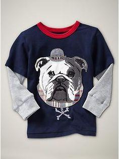 Baby Gap boys bulldog tee $19.95