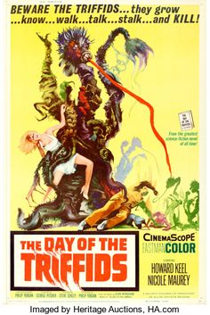 """Movie Posters:Science Fiction, The Day of the Triffids (Allied Artists, 1962). Poster (40"""" X 60"""")Joseph Smith Artwork.. ..."""