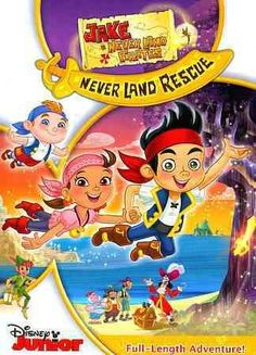 Jake and the Never Land Pirates: Never Land Rescue Sails on to DVD November Guide: Ahoy! Jake and the Never Land Pirates: Never Land Rescue Sails on to DVD November Movies For Sale, New Movies, Disney Movies, Toy R, Family Movie Night, Disney Junior, Disney Merchandise, Neverland, Halloween
