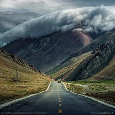 "Big Mountain on ""Tibet road trip"" by CoolbieRe"