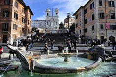 Piazza di Spagna (Spanish Steps), via Flickr.