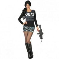 #Disfraz #Policía #Swat para mujer #mercadisfraces #tienda de #disfraces #online disponemos de disfraces #originales perfectos para #carnaval.