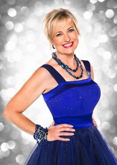 No clouds: BBC weather presenter Carol Kirkwood, has said her dancing abilities are not up to scratch Carol Kirkwood, Female News Anchors, Female Dancers, Tv Girls, Photoshoot Images, Strictly Come Dancing, Tv Presenters, Sexy Older Women, Sexy Women