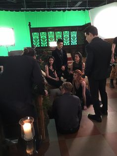 Behind the scenes from Max's Rune Ceremony Shadowhunters Series, Shadowhunters The Mortal Instruments, Girl Meets World Cast, Constantin Film, Famous In Love, Clary And Jace, Isabelle Lightwood, Jace Wayland, Dominic Sherwood