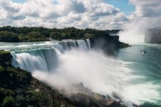 """See 4487 photos from 25560 visitors about scenic views, canadian side, and american side. """"Perfect place to see the falls. Canada Facts For Kids, Fun Facts About Canada, Niagara Falls Barrel, Niagara Falls Ny, Niagara Falls American Side, American Falls, World Travel Guide, Lonely Planet, Empire State Building"""