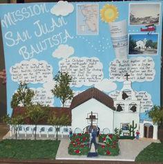 Mission San Juan Bautista - 4th Grade project