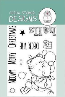 Happy Fall Cat - Digital Stamp – Gerda Steiner Designs, LLC