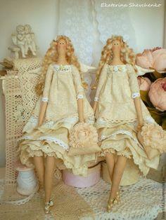 """Куклы Тильды ручной работы. Ярмарка Мастеров - ручная работа Ангелы """"Vanilla cream"""" - куклы в стиле Тильда. Handmade."""