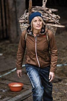 Brown jacket from Maloja.