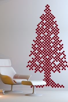 Holiday tinsel wall decals walls and holidays solutioingenieria Image collections