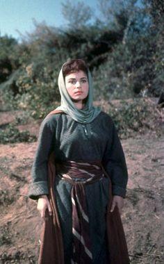 Elizabeth Haffenden - Costumière de Cinéma - Ben Hur - 1959 - Haya Harareet - Esther