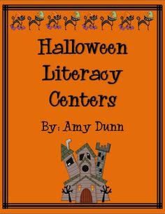 Literacy Centers and Activities for HALLOWEEN! - - rePinned by #PediaStaff.  Visit http://ht.ly/63sNt for all our pediatric therapy pins