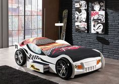 Cama coche juvenil tematico 393-4793