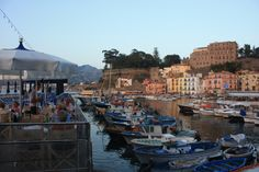 Summer night and excellent dinner at  Bagni Delfino in Sorrento