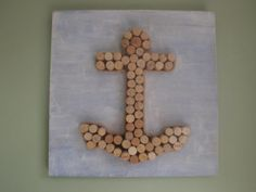 wine cork anchor