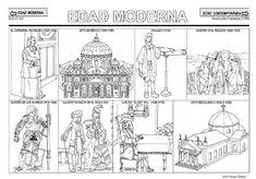 Fichas de la Edad Moderna. Opening Day, Social Science, Social Studies, Taj Mahal, History, Veronica, Chocolates, Modern History, Socialism