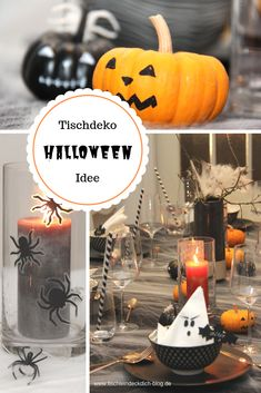 halloween-tischdeko-idee-boo-boo/ - The world's most private search engine Halloween Clown, Halloween Party, New Kitchen Doors, Skinny Kitchen, Fall Diy, Creative Thinking, Exterior Doors, One Bedroom, Pumpkin Carving