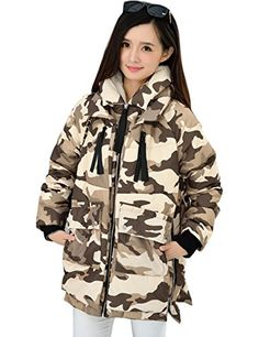 RUIATOO Womens Winter Thickened Long Hooded Down Parka Coat jacket *** More info could be found at the image url. (Note:Amazon affiliate link)