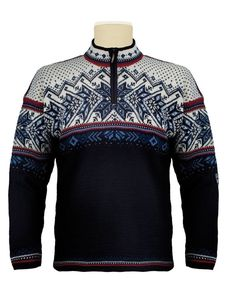 NEW! Dale of Norway Men/Women's Midnight NavyWool Vail Sweater-FREE $49.95 SCARF #DaleofNorway
