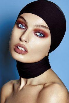 Pop of Colour by Frank Mijares for Beauty SCENE - Beauty Scene