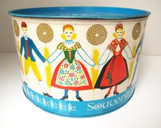 Swedish knackebrod tin