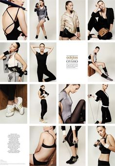 adidas for Oysho gym collection 2011